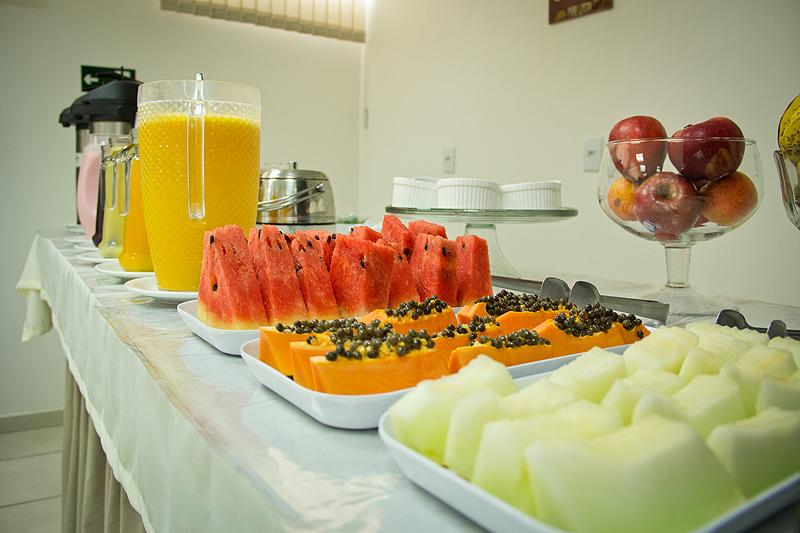 Café da manhã - Copaíba Hotel em Bauru