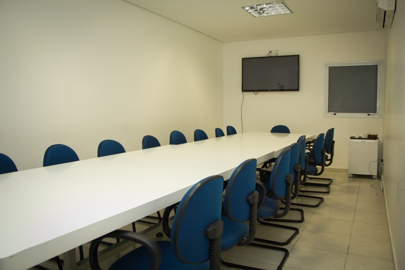 Sala de reunião - Copaíba Hotel em Bauru